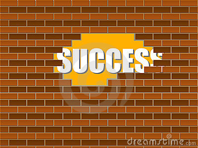 Success behind the wall