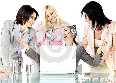Success businesswomen