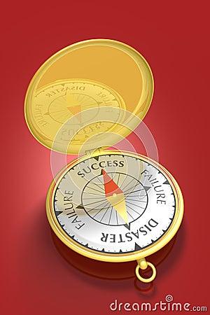 Free Success Compass 2 Stock Photo - 272290