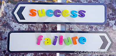 Success or failure.
