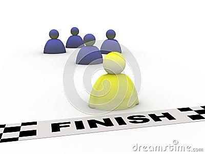 Success finish