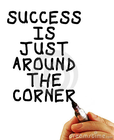 Free Success Is Just Around The Corner Royalty Free Stock Photography - 12153877