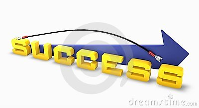 Success linked on up arrow