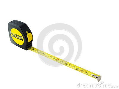 Success measuring tape