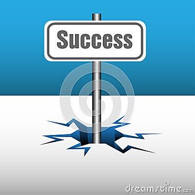 Success plate