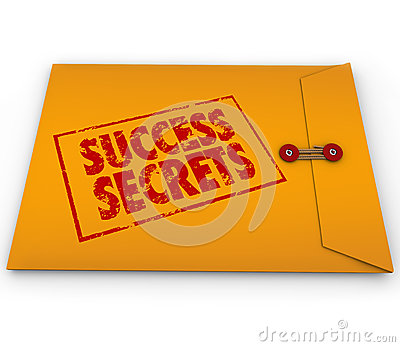 Success Secrets Winning Information Classified Envelope