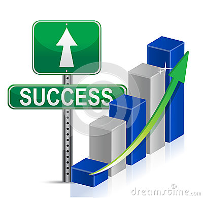 Success sign Business