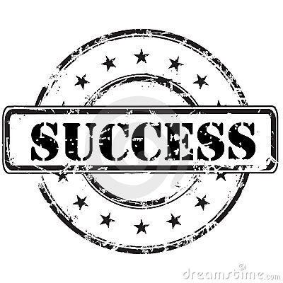 Free Success Stamp Royalty Free Stock Images - 9003459