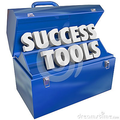 Free Success Tools Toolbox Skills Achieving Goals Stock Image - 36149711