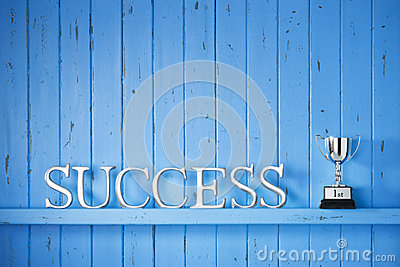 Success Word Background