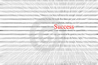 Success wording