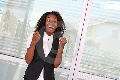 Successful African Woman