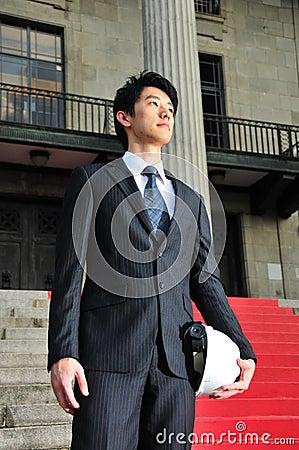 Successful Asian Engineer 5