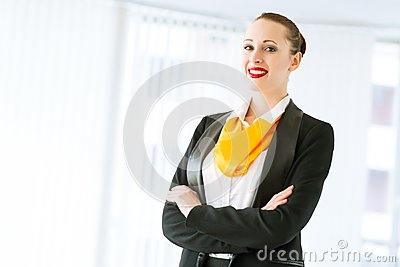 Successful business woman