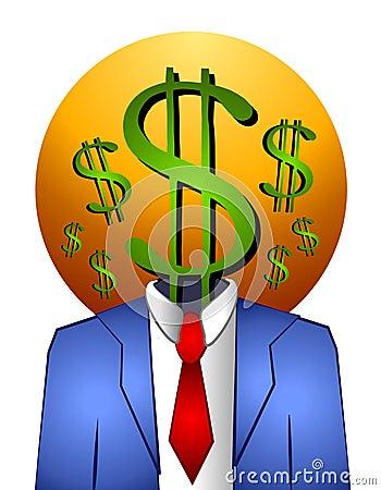 Successful Businessman Money