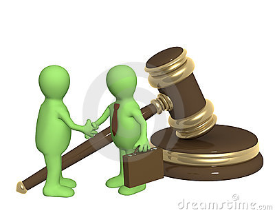 Successful decision of a legal problem