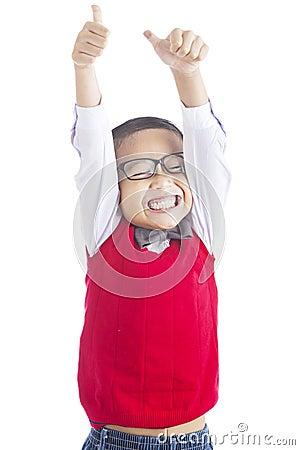 Successful elementary school student