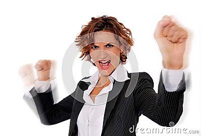 Successful Energetic Woman