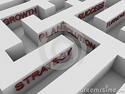 Successful strategy - maze