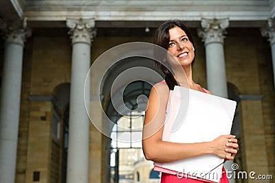 Successful student in european college
