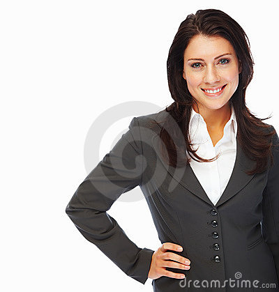 A successful young business woman