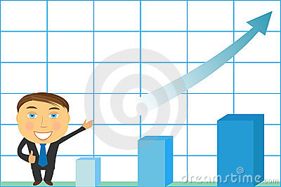 Successfuly businessman with growing schedule