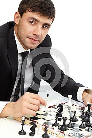 Succesvolle zakenman