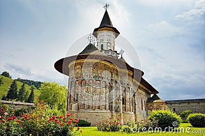 Sucevita orthodox Romanian monastery