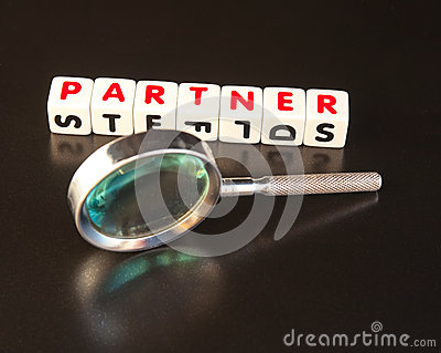 Suchen eines Partners