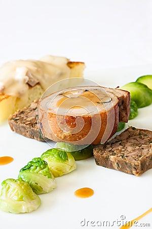 Suckling Pig Steak
