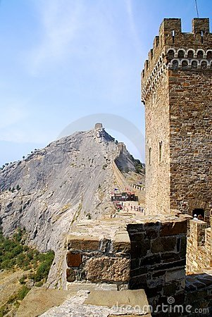 Sudak fortress in Crimea