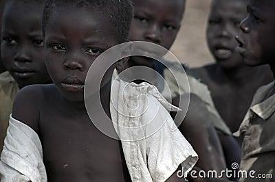 Sudanese Refugees in Arua, Uganda Editorial Photography