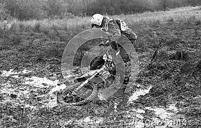 Sudbury Stages Enduro race Editorial Image