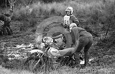 Sudbury Stages Enduro race Editorial Image