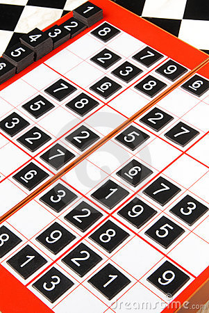 Free Sudoku Stock Photography - 19250732