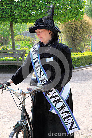 Suffragette Editorial Stock Image