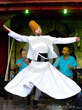 Sufi whirling dervish Editorial Photography