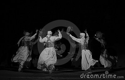 SUFI WHIRLING DERVISHES, CAIRO, EGYPT Editorial Image