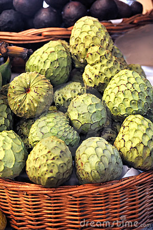 Free Sugar-apple, Annona Squamosa - Fruit Of Madeira Stock Photos - 14777963