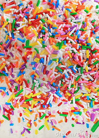 Free Sugar Birthday Sprinkles Stock Images - 18433164