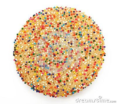 Sugar Cookie With Sprinkles