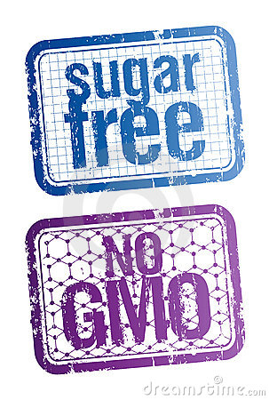 Sugar free and bio food stamps.