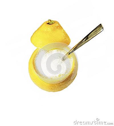 sugar lemon
