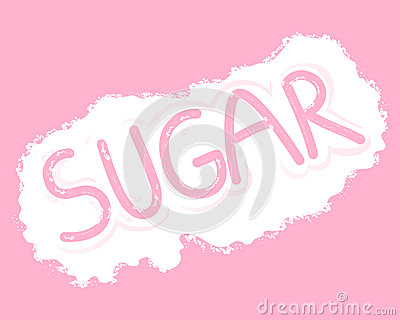 Sugar letters