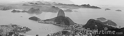 Sugar loaf panorama picture
