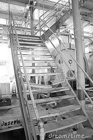 Sugar Mill Stairs
