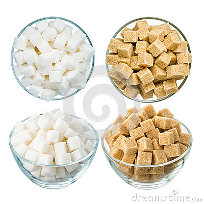 Free Sugar On White Stock Images - 51714904