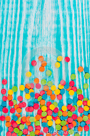 Free Sugar Sprinkle Dots, Colored Decoration For Cake And Bekery, A Lot Of Sprinkles As A Background Royalty Free Stock Photo - 86240645