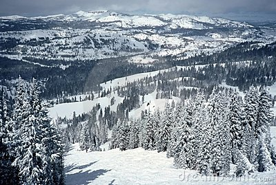 Sugarbowl Ski Resort Scenic