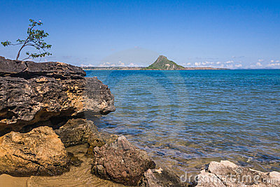 The sugarloaf of Antsiranana bay